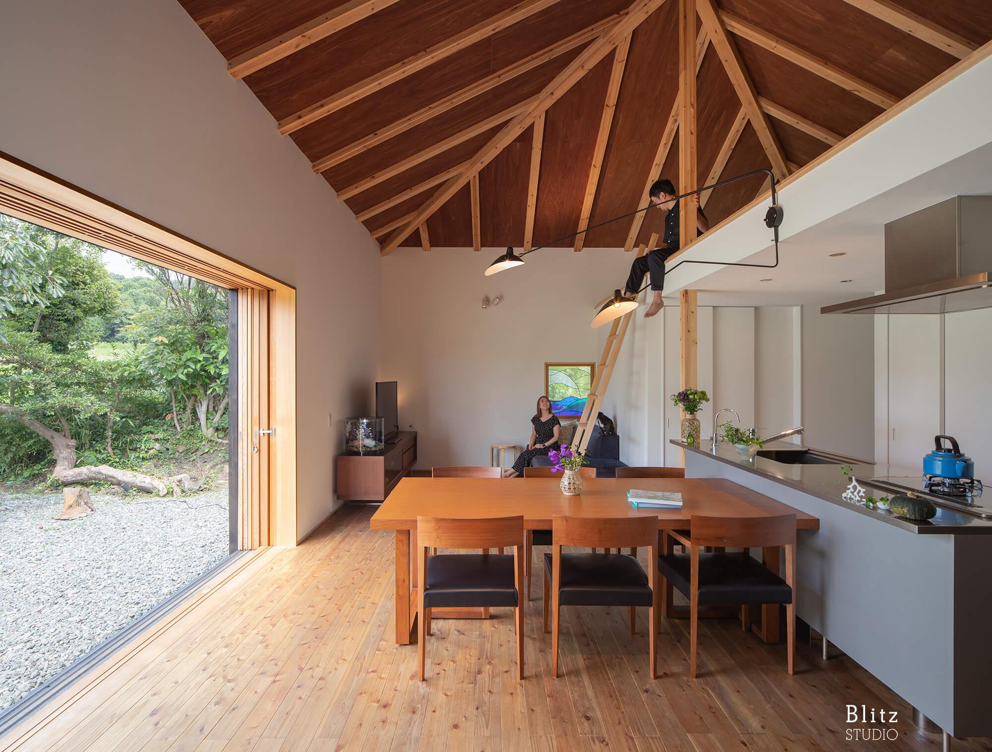 『能古島の家』-福岡県福岡市-建築写真・竣工写真・インテリア写真3