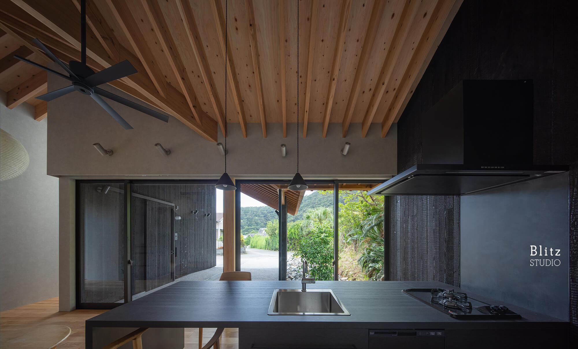 『浦の家』-鹿児島県奄美大島-建築写真・竣工写真・インテリア写真5