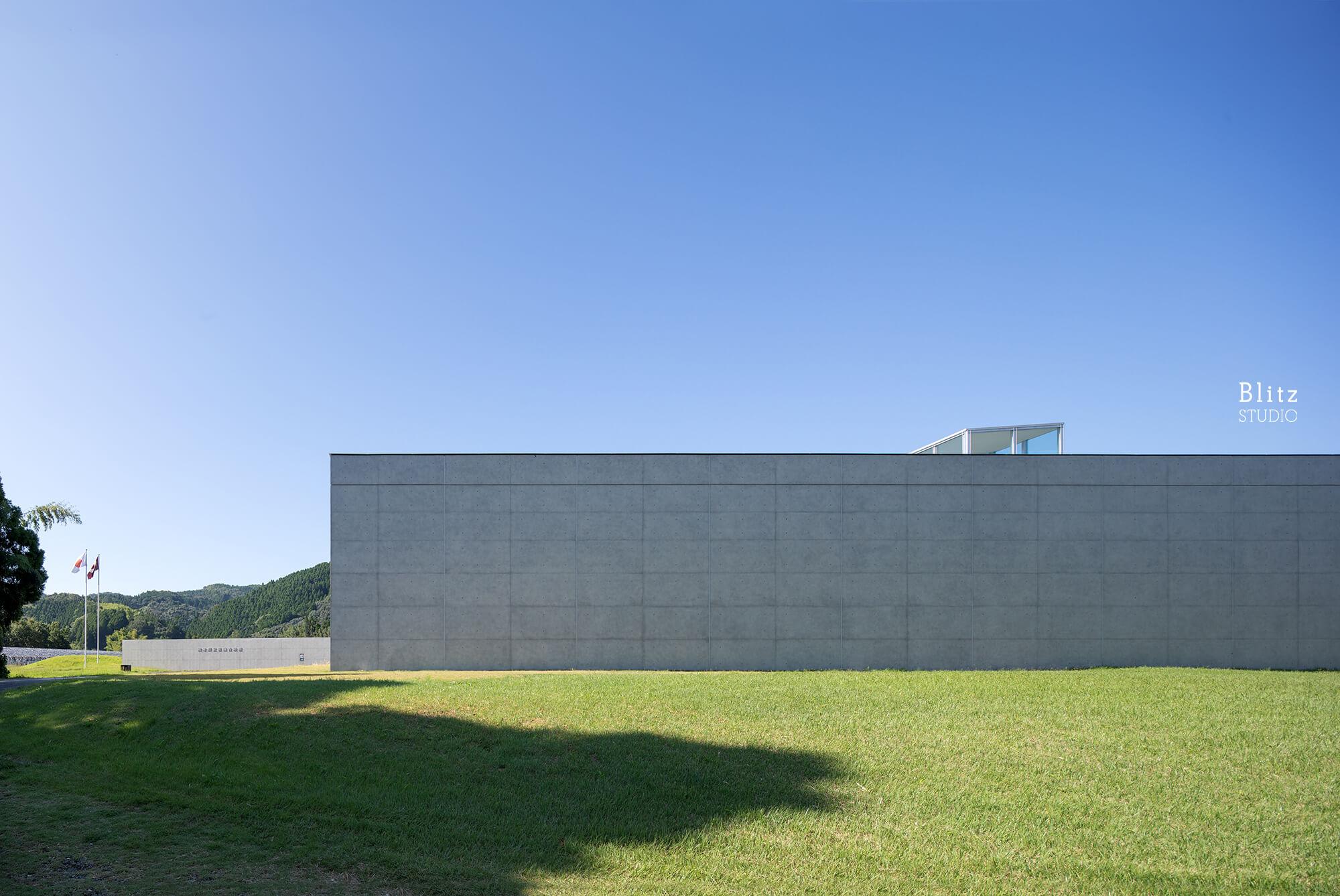 『熊本県立装飾古墳館』-熊本県山鹿市-建築写真・竣工写真・インテリア写真1