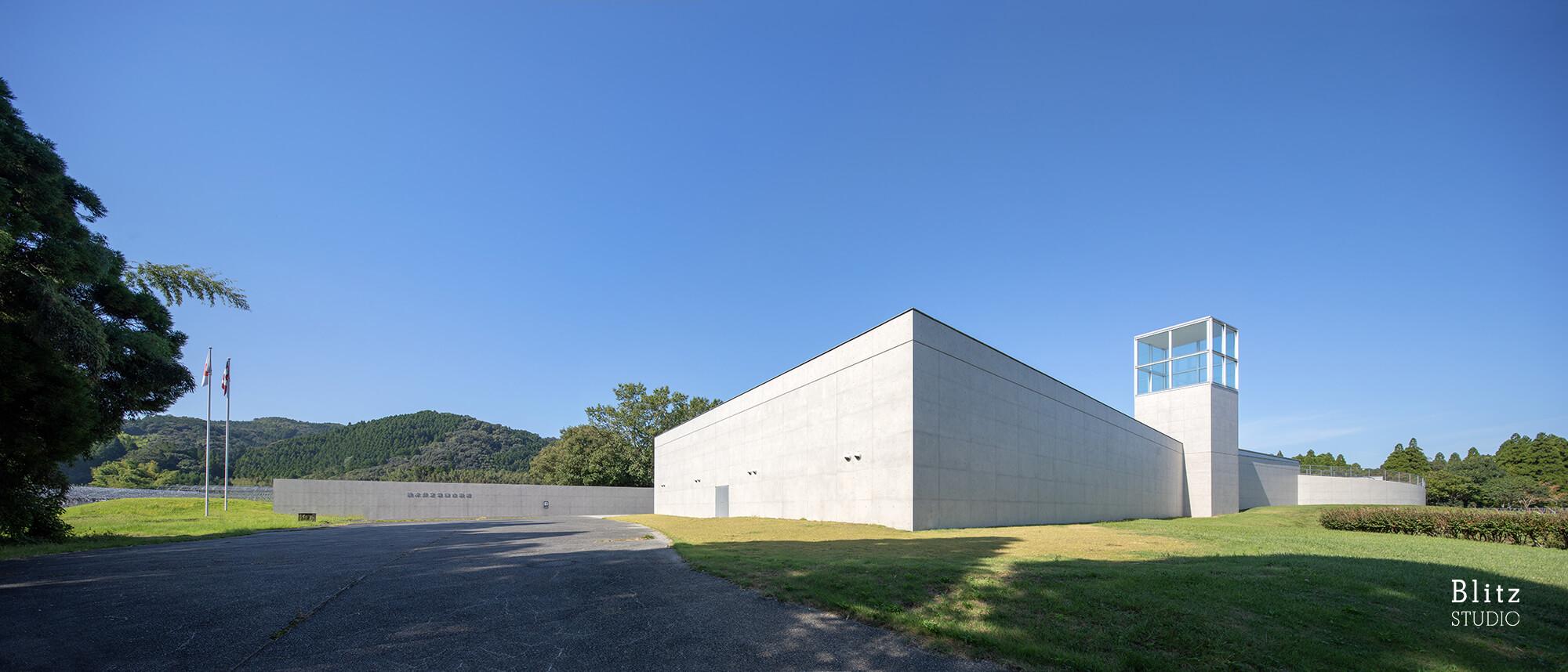 『熊本県立装飾古墳館』-熊本県山鹿市-建築写真・竣工写真・インテリア写真2