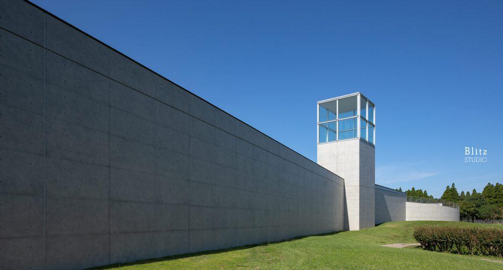 『熊本県立装飾古墳館』-熊本県山鹿市-建築写真・竣工写真・インテリア写真