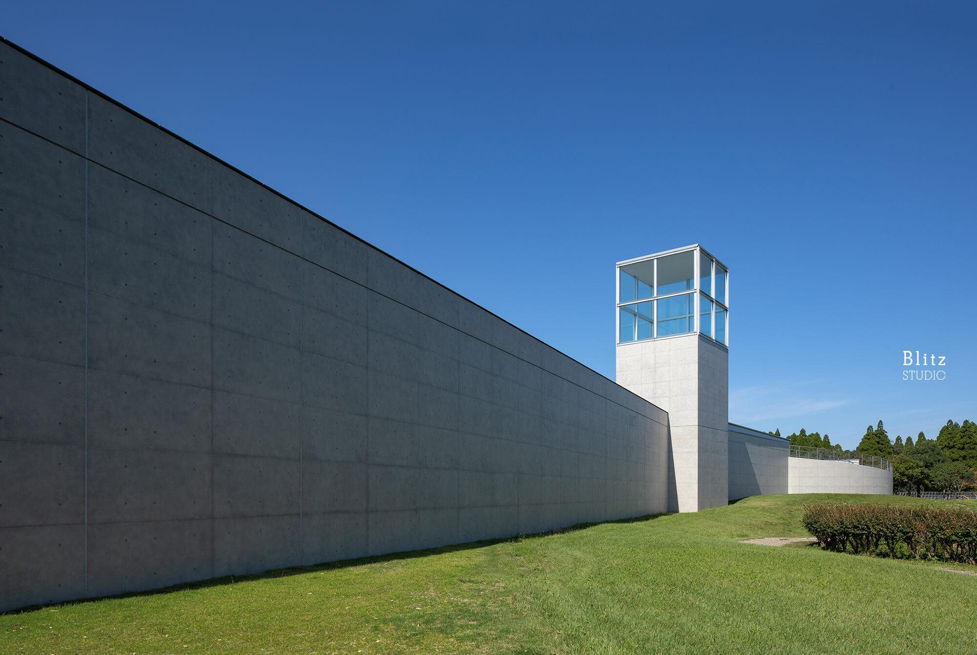 『熊本県立装飾古墳館』-熊本県山鹿市-建築写真・竣工写真・インテリア写真3