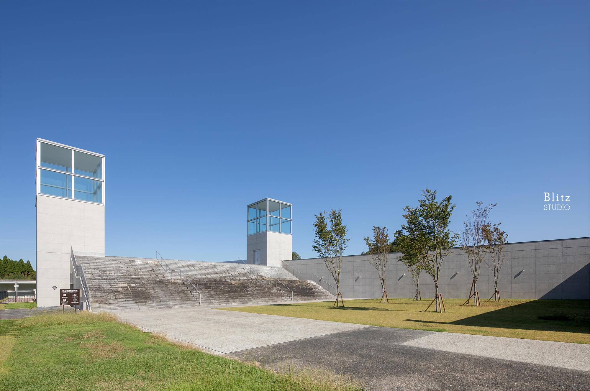 『熊本県立装飾古墳館』-熊本県山鹿市-建築写真・竣工写真・インテリア写真5