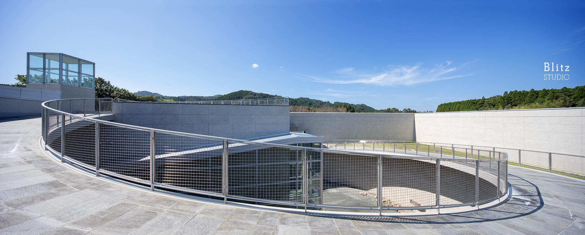 『熊本県立装飾古墳館』建築写真・竣工写真・インテリア写真7