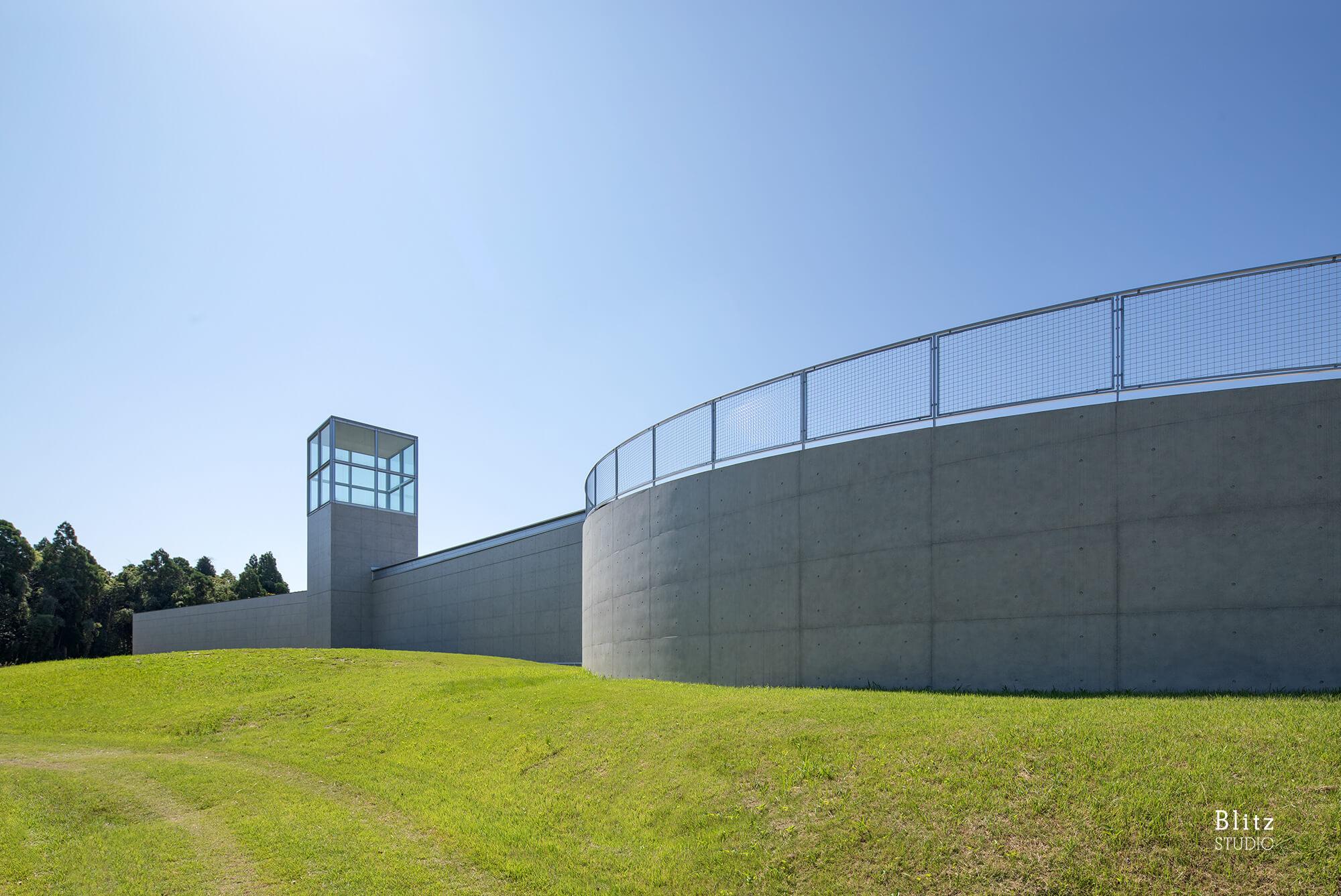 『熊本県立装飾古墳館』建築写真・竣工写真・インテリア写真18