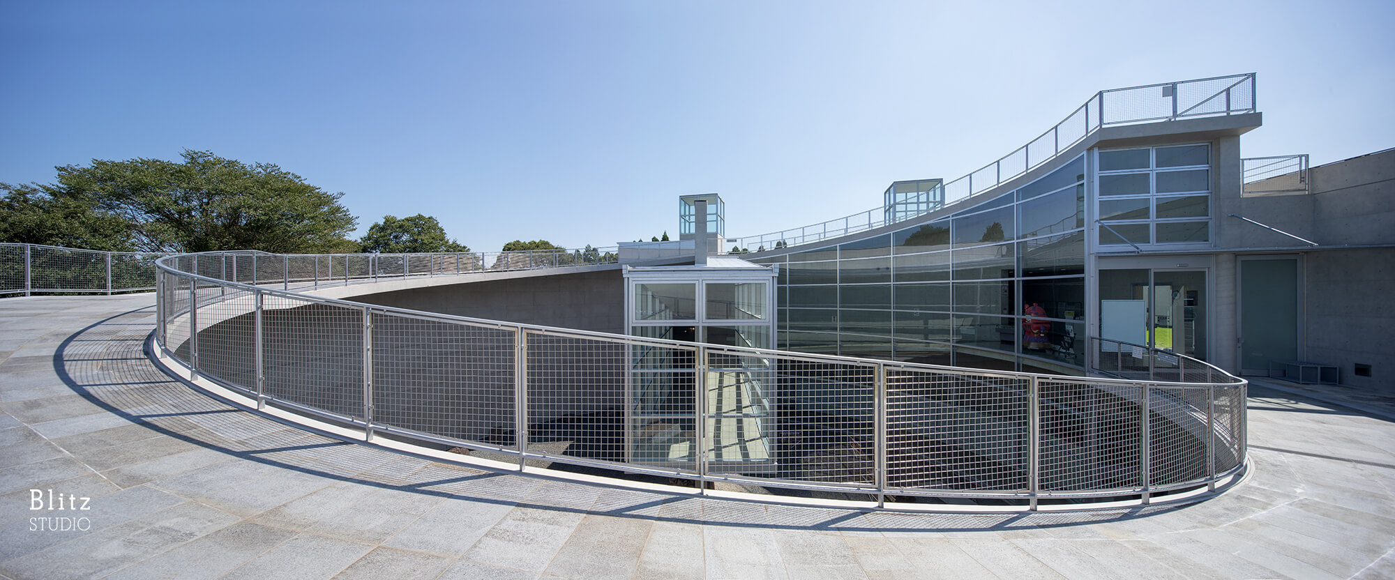 『熊本県立装飾古墳館』建築写真・竣工写真・インテリア写真8