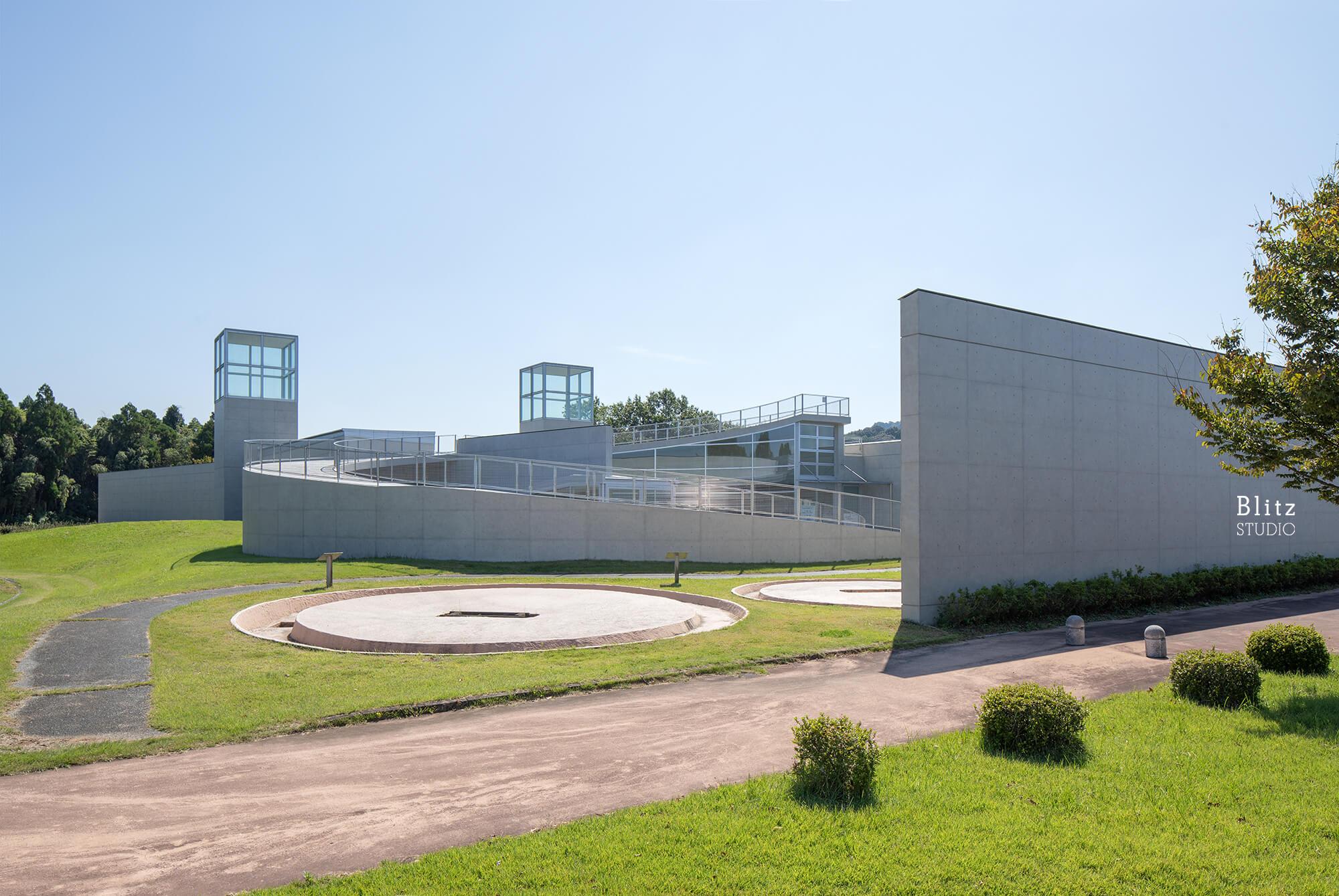 『熊本県立装飾古墳館』建築写真・竣工写真・インテリア写真19
