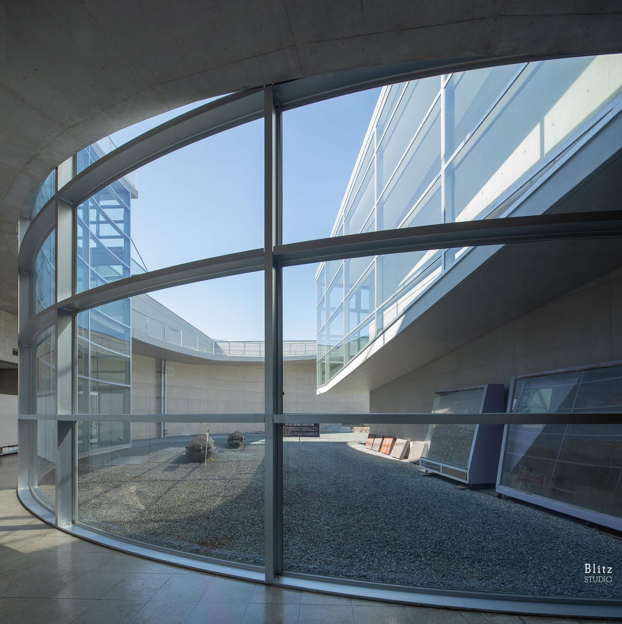 『熊本県立装飾古墳館』建築写真・竣工写真・インテリア写真15