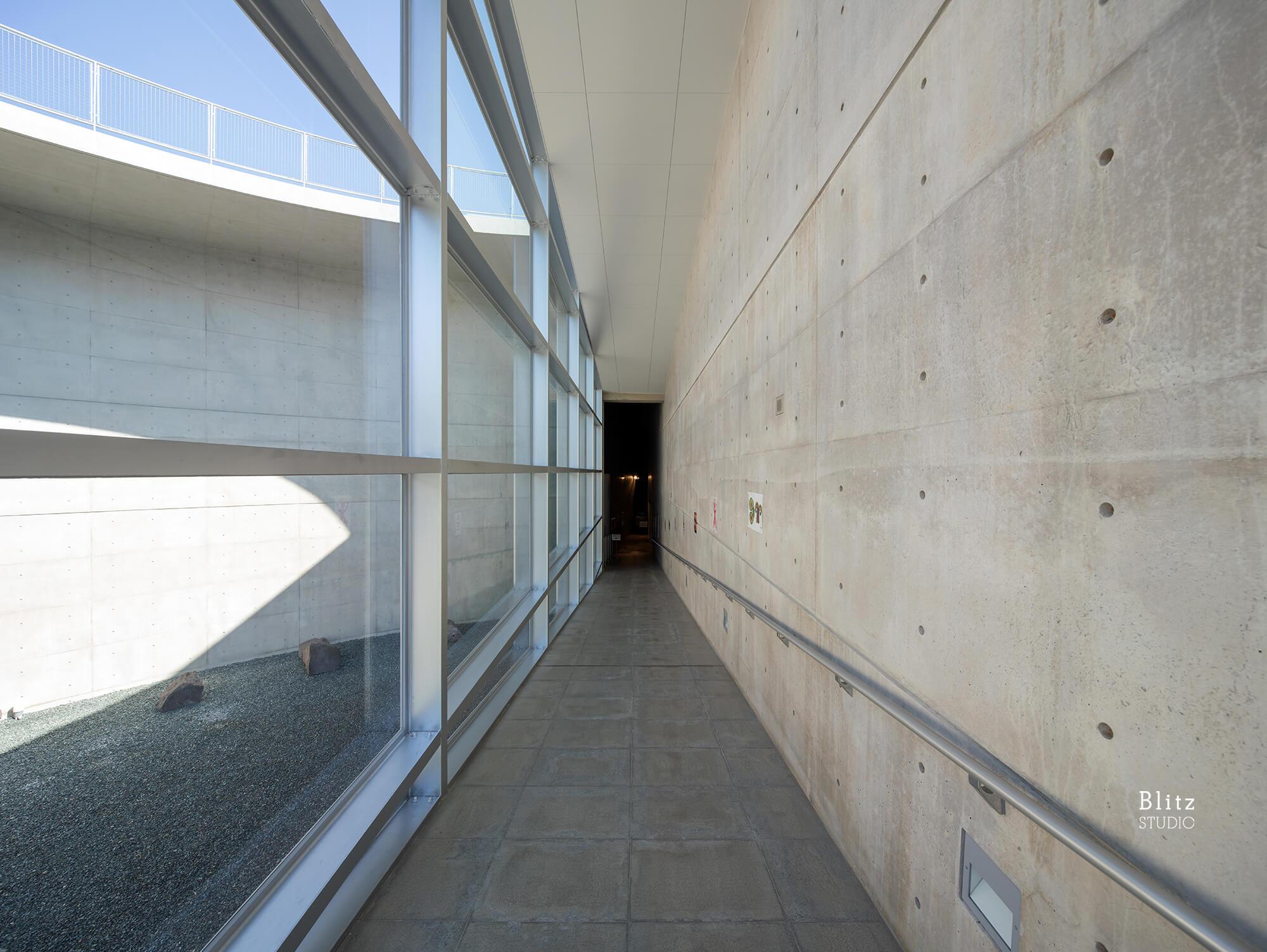 『熊本県立装飾古墳館』建築写真・竣工写真・インテリア写真13