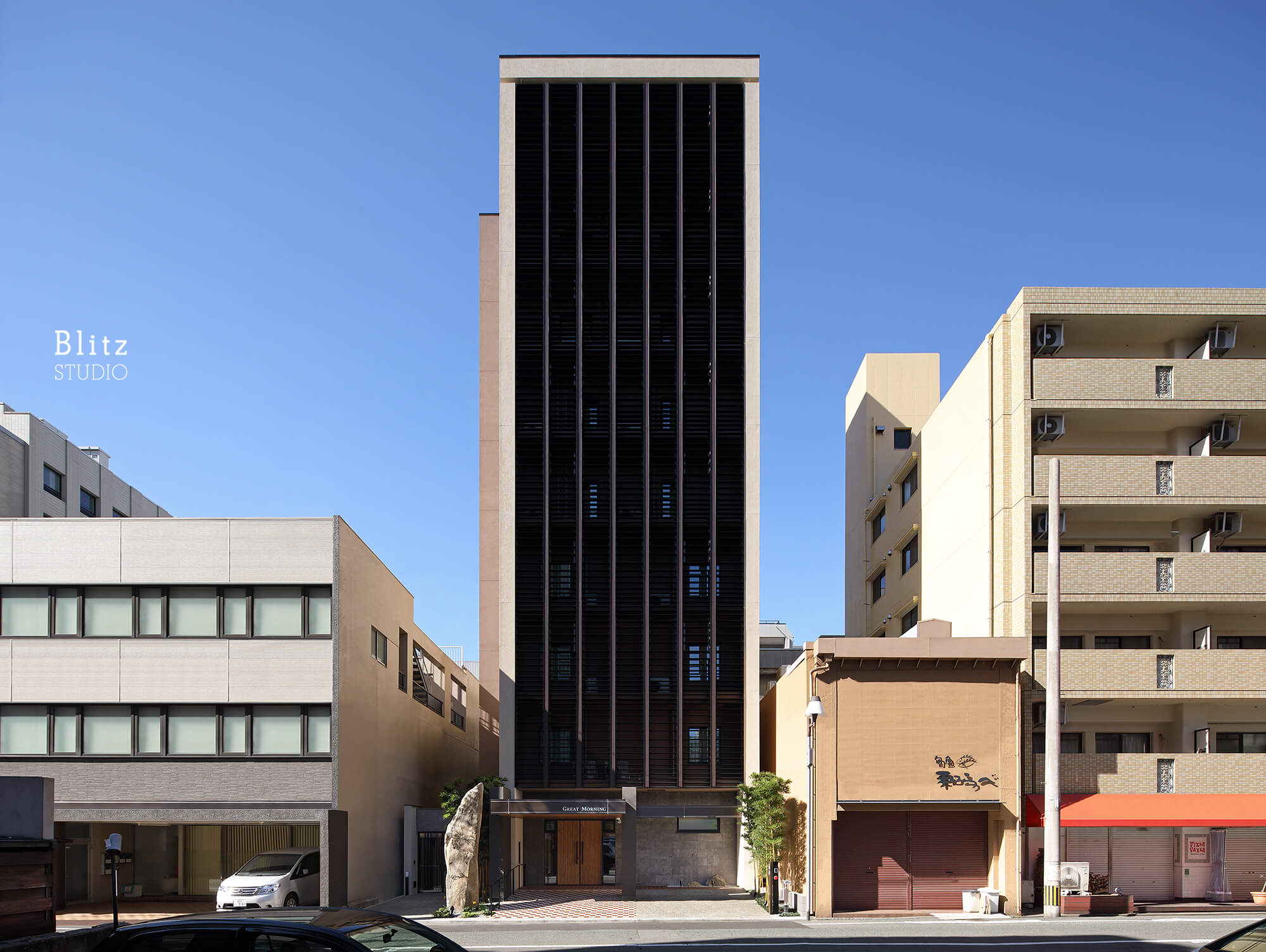 『HOTEL GREAT MORNING』-福岡県福岡市-建築写真・竣工写真・インテリア写真1
