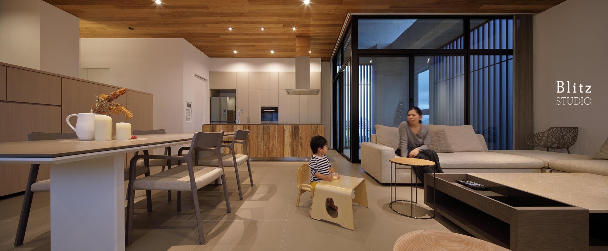 『新都心の家』建築写真・竣工写真・インテリア写真10