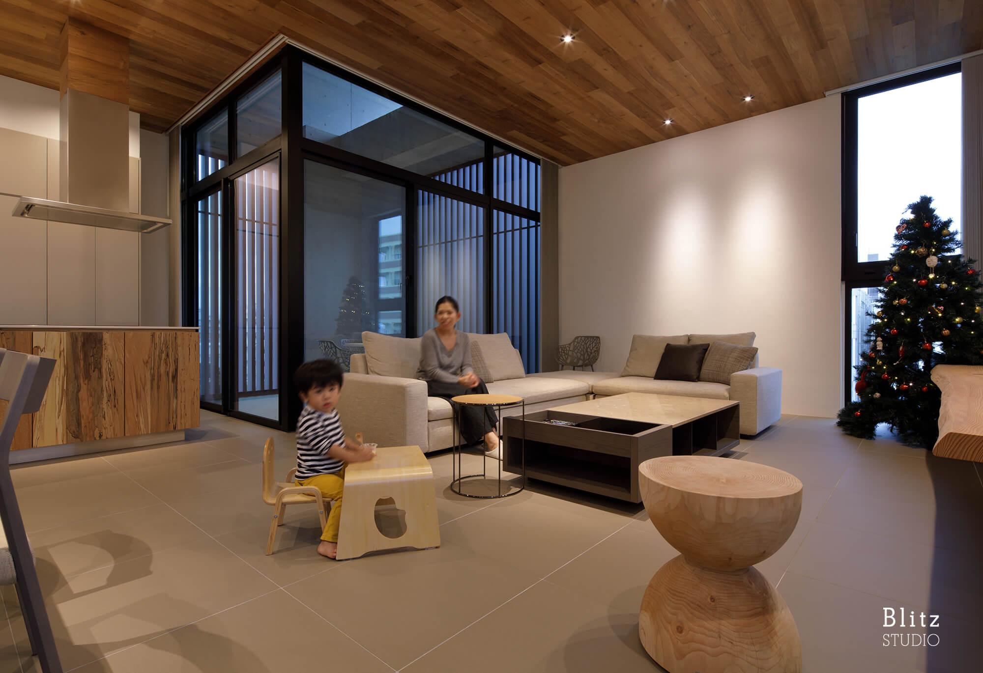 『新都心の家』建築写真・竣工写真・インテリア写真11