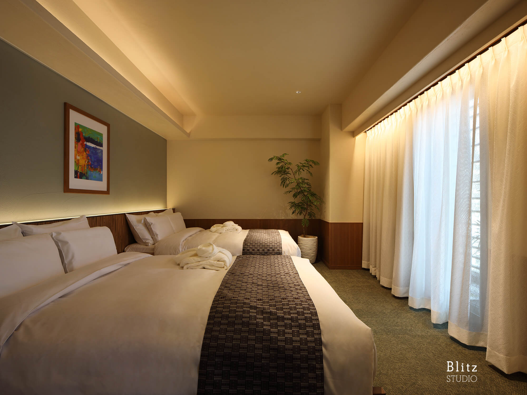 『HOTEL GREAT MORNING』建築写真・竣工写真・インテリア写真14
