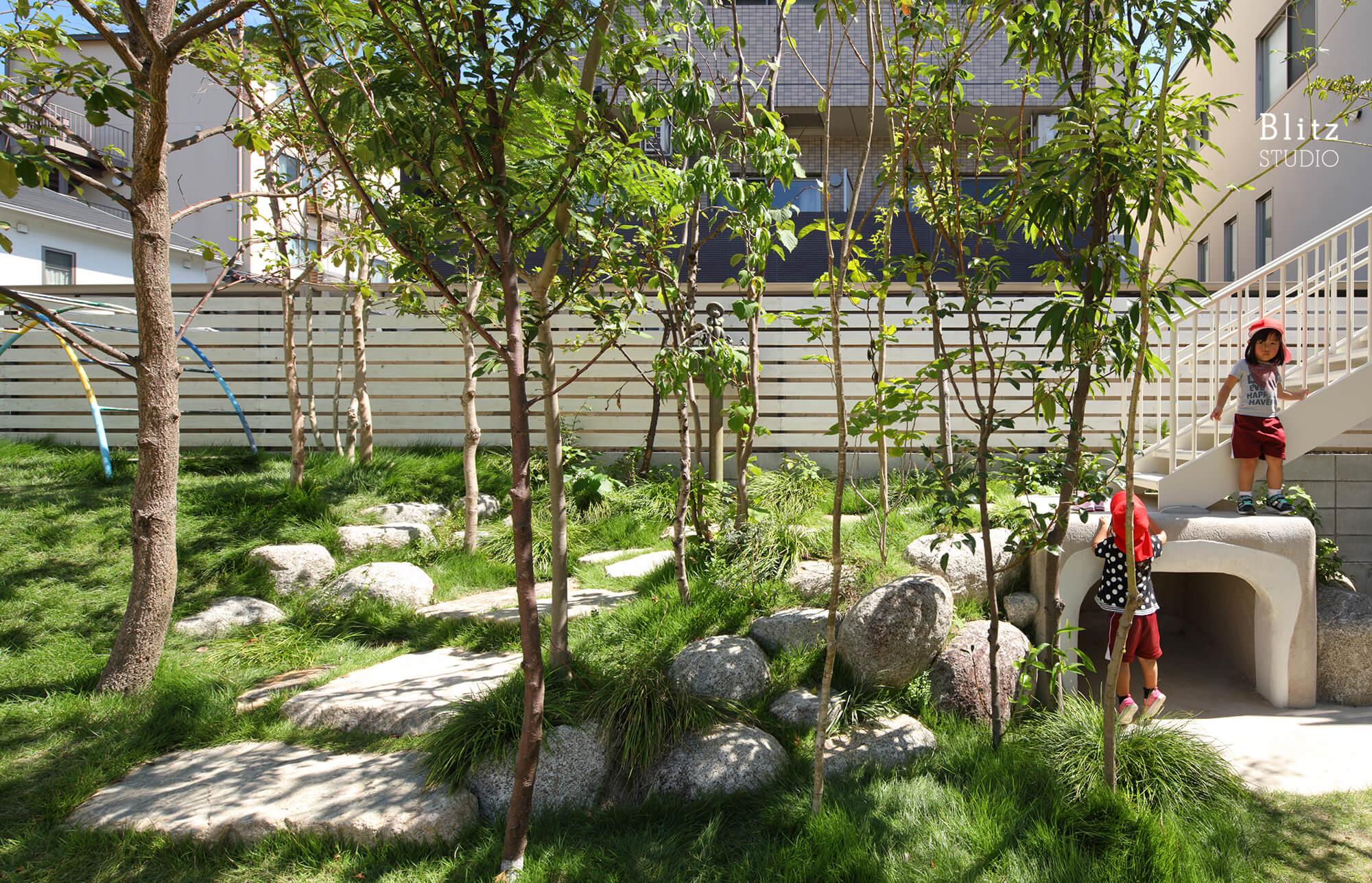 『妙林苑保育園』建築写真・竣工写真・インテリア写真14