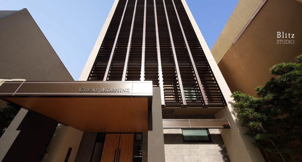 『HOTEL GREAT MORNING』-福岡県福岡市-建築写真・竣工写真・インテリア写真
