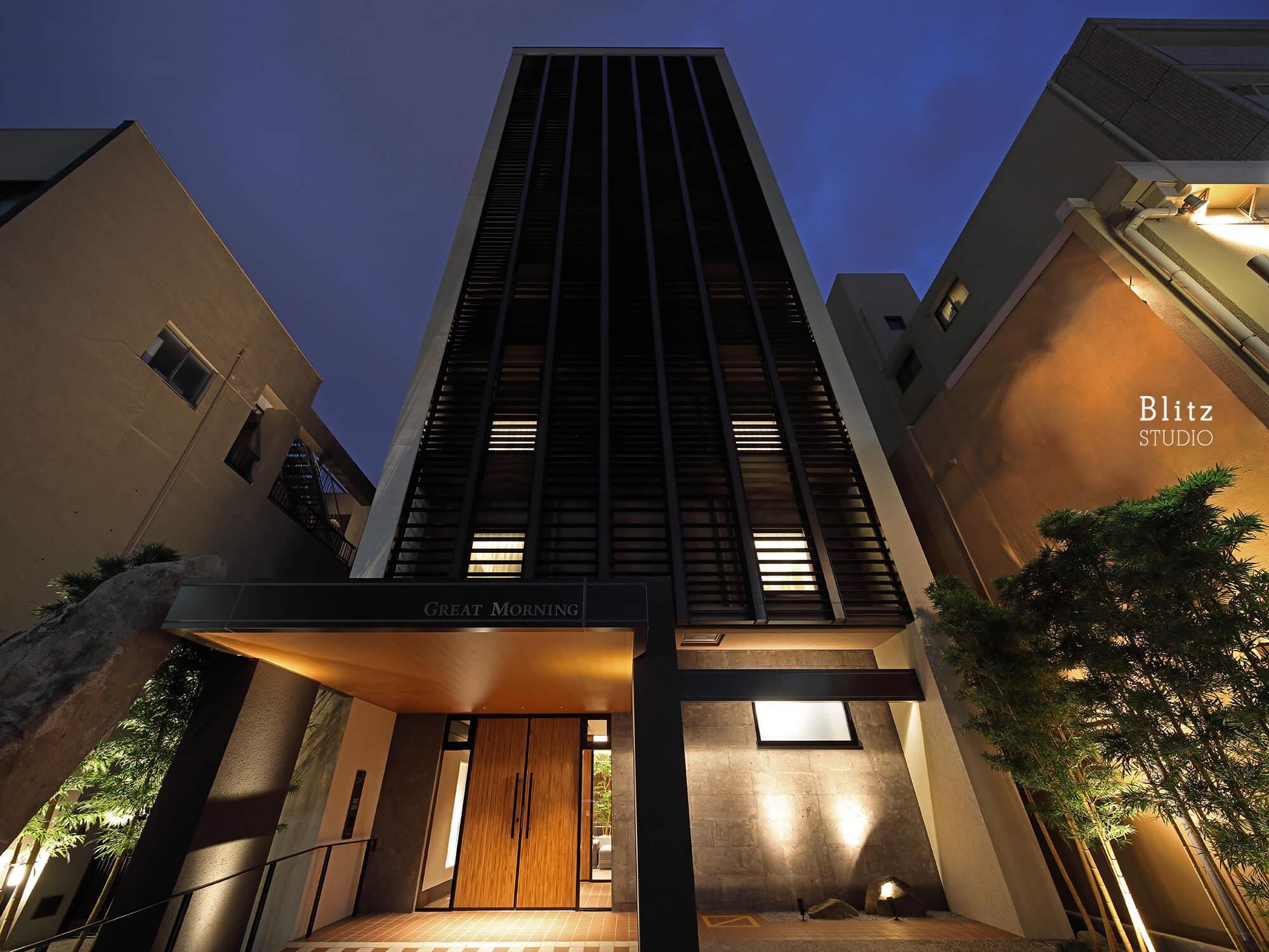 『HOTEL GREAT MORNING』-福岡県福岡市-建築写真・竣工写真・インテリア写真4