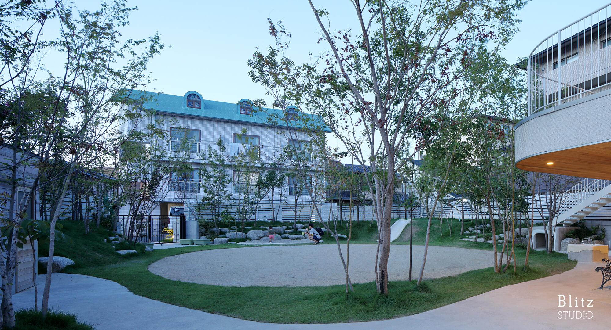 『妙林苑保育園』建築写真・竣工写真・インテリア写真24