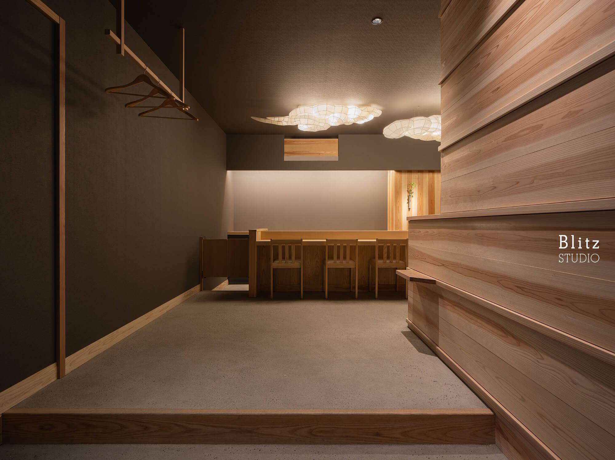 『鮨処はやし』-福岡県福岡市-建築写真・竣工写真・インテリア写真2