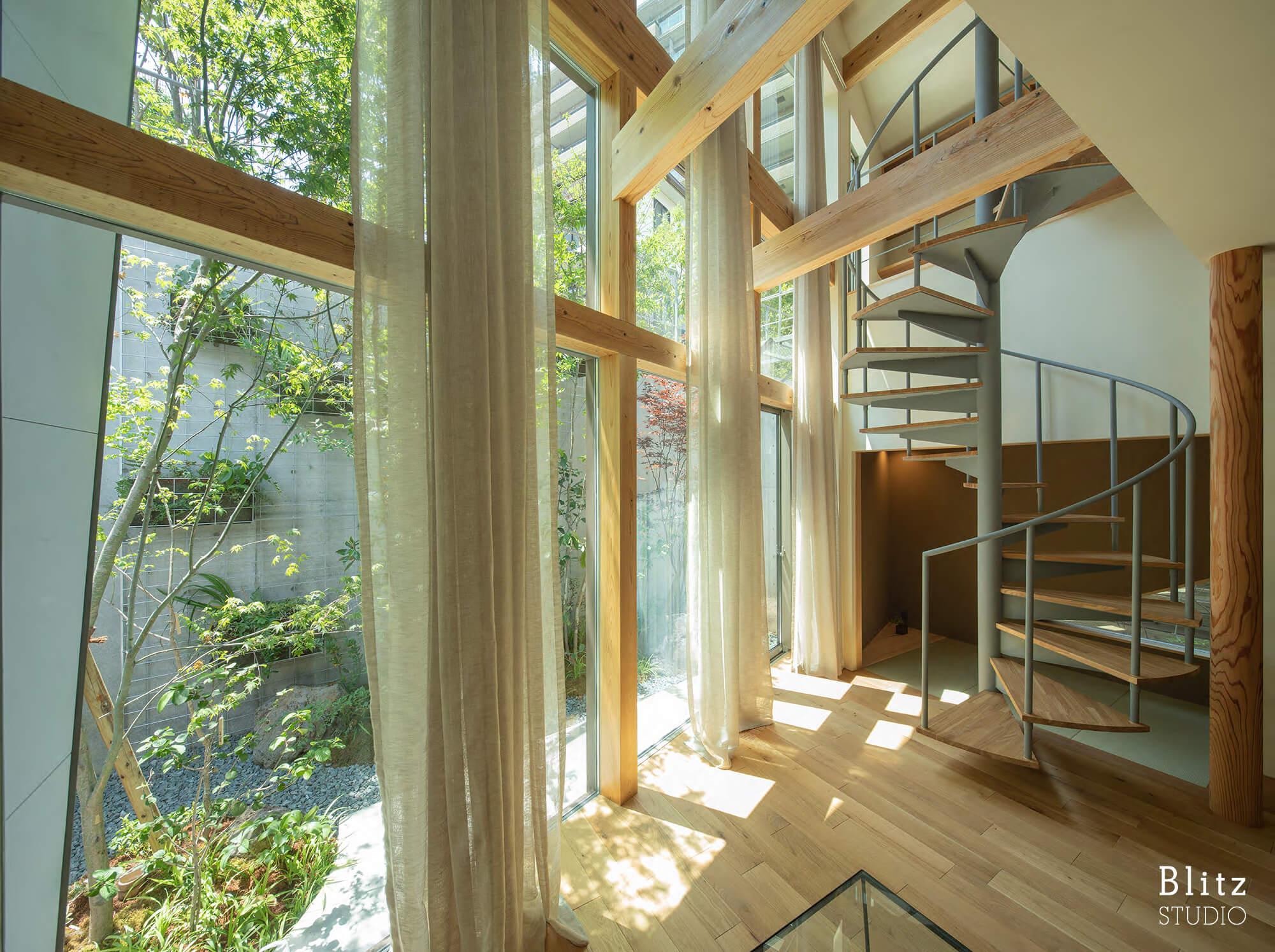 『赤坂の家』-福岡県福岡市-建築写真・竣工写真・インテリア写真4