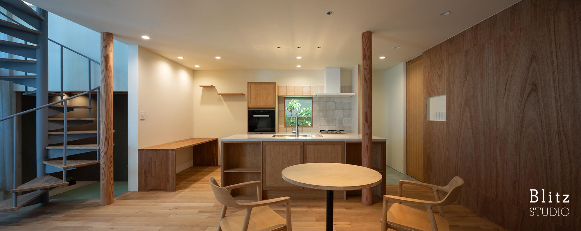 『赤坂の家』建築写真・竣工写真・インテリア写真7