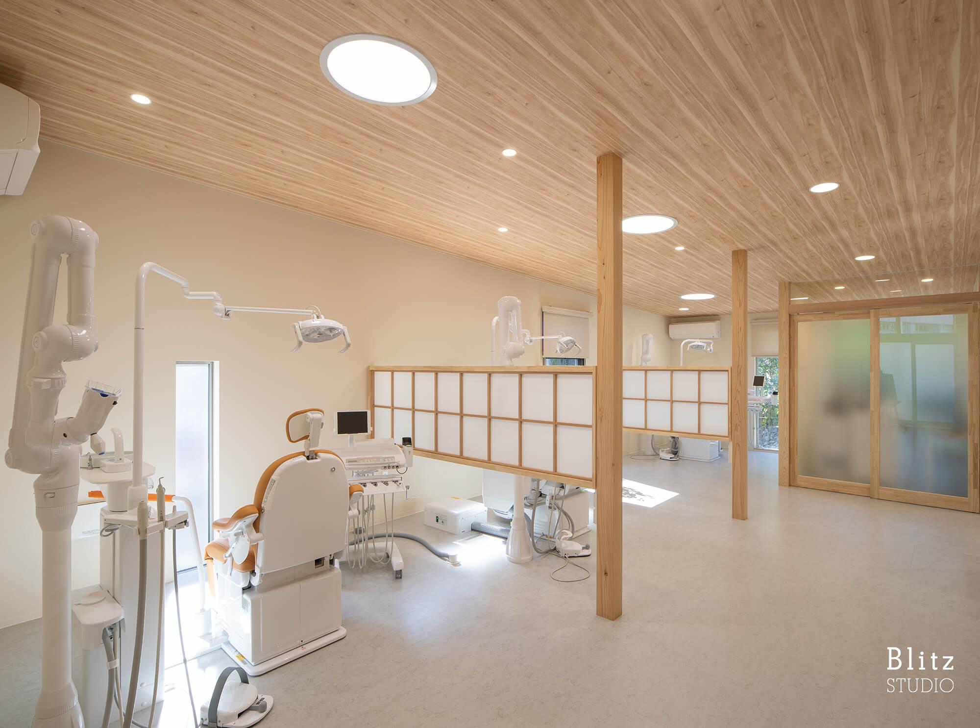 『江藤歯科医院』建築写真・竣工写真・インテリア写真8