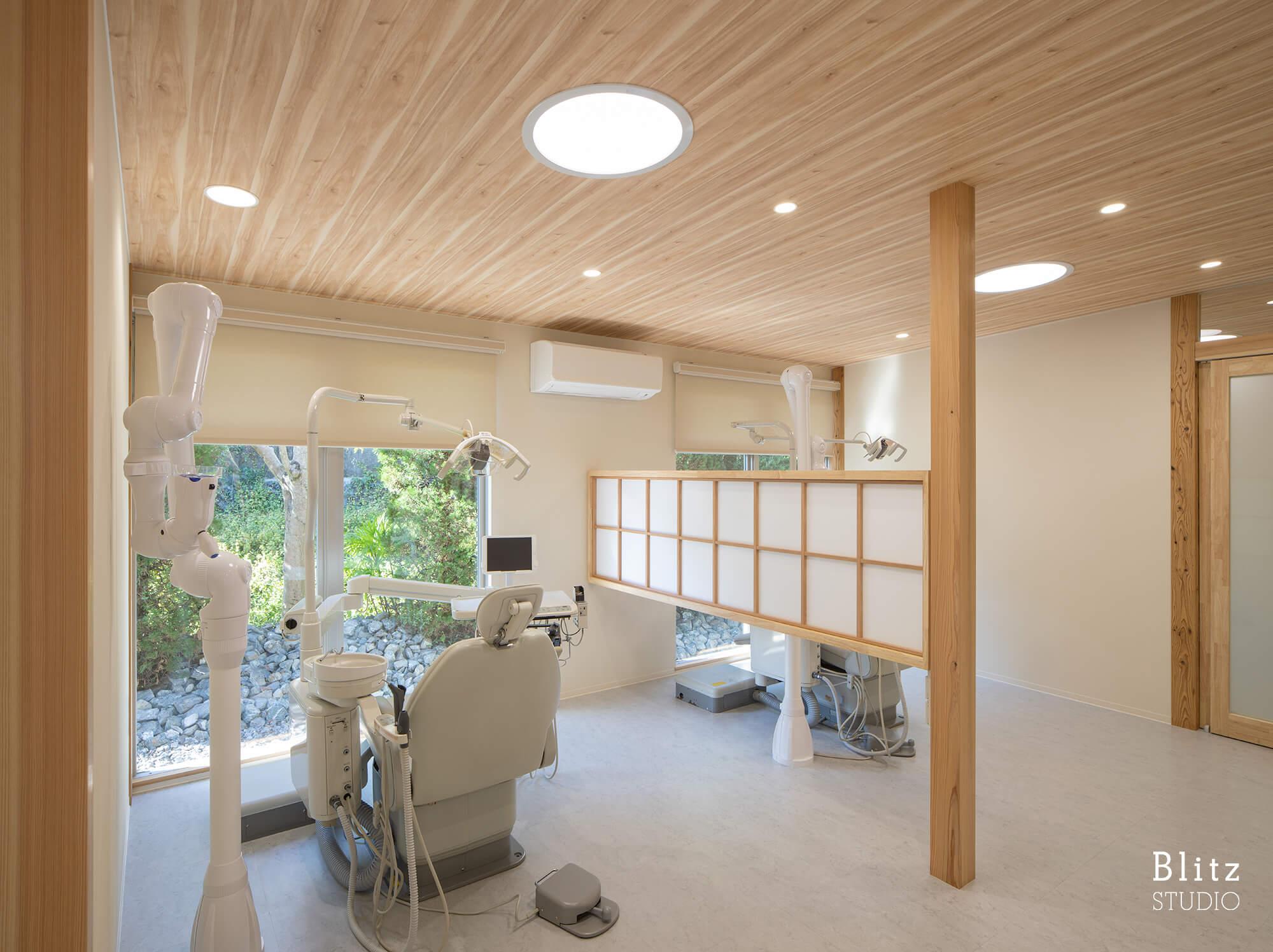 『江藤歯科医院』建築写真・竣工写真・インテリア写真9