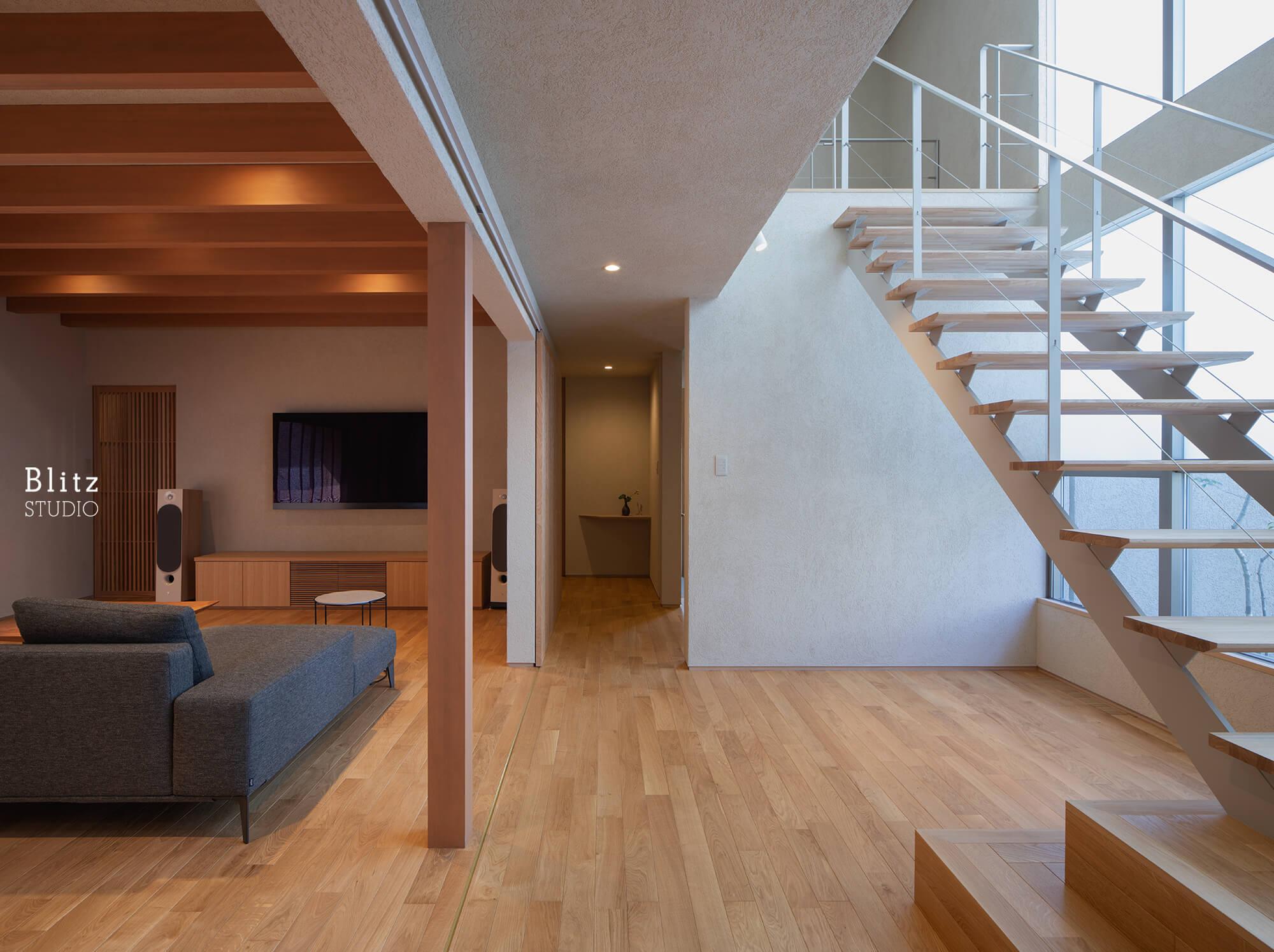 『尾ノ上の家』建築写真・竣工写真・インテリア写真7