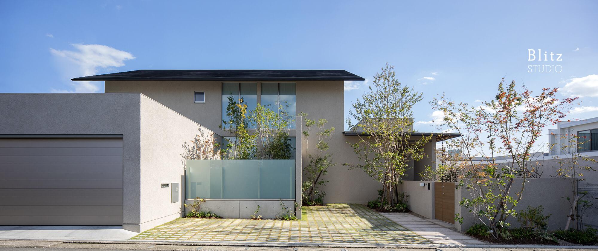 『尾ノ上の家』-熊本県熊本市-建築写真・竣工写真・インテリア写真1