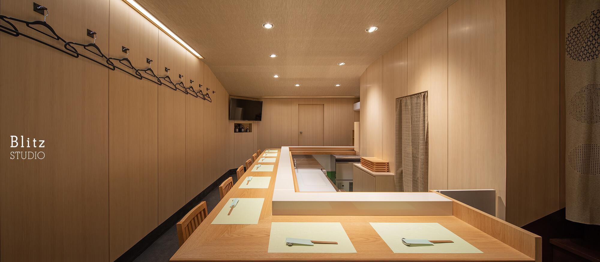 『魚徳・寿し処なかむら』-福岡県福岡市-建築写真・竣工写真・インテリア写真5