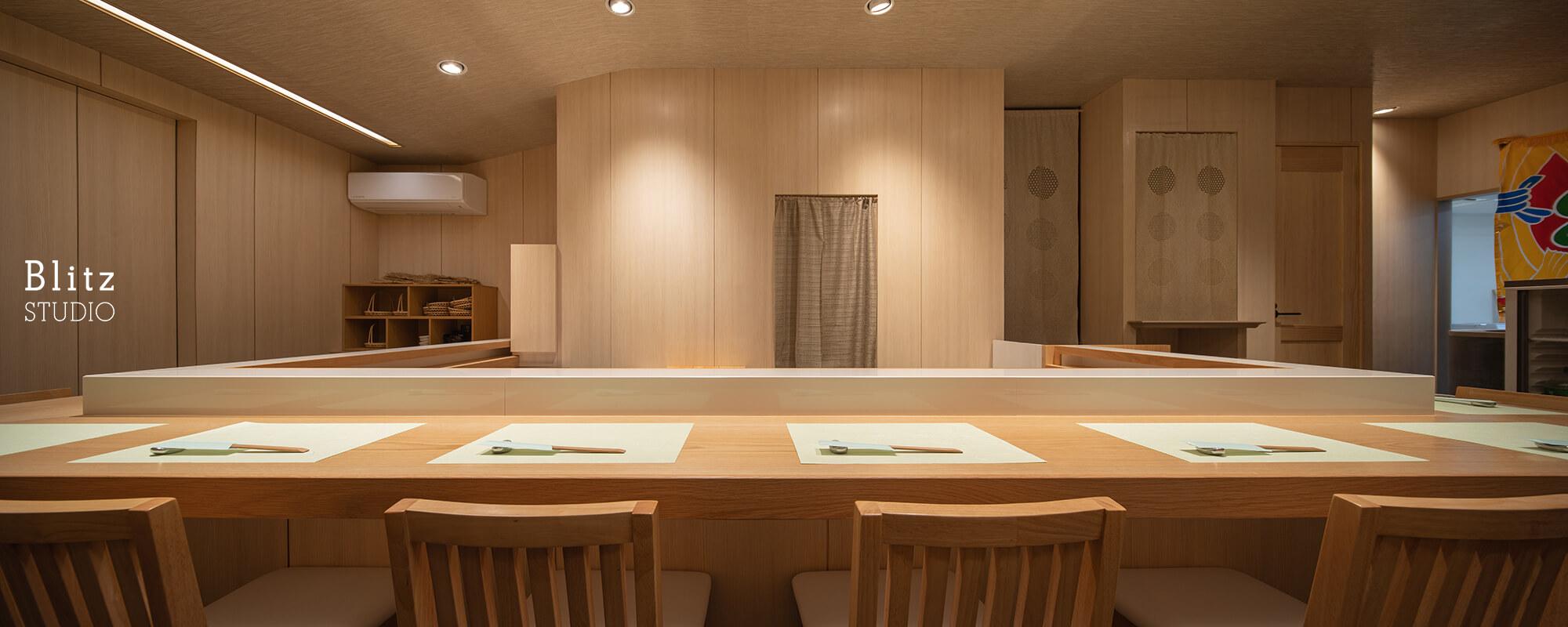 『魚徳・寿し処なかむら』建築写真・竣工写真・インテリア写真6