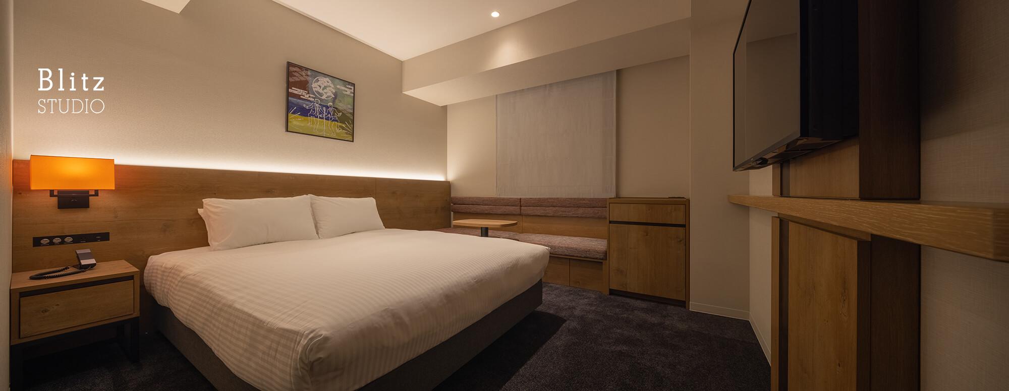 『ホテルフォルツァ大阪道頓堀』建築写真・竣工写真・インテリア写真8