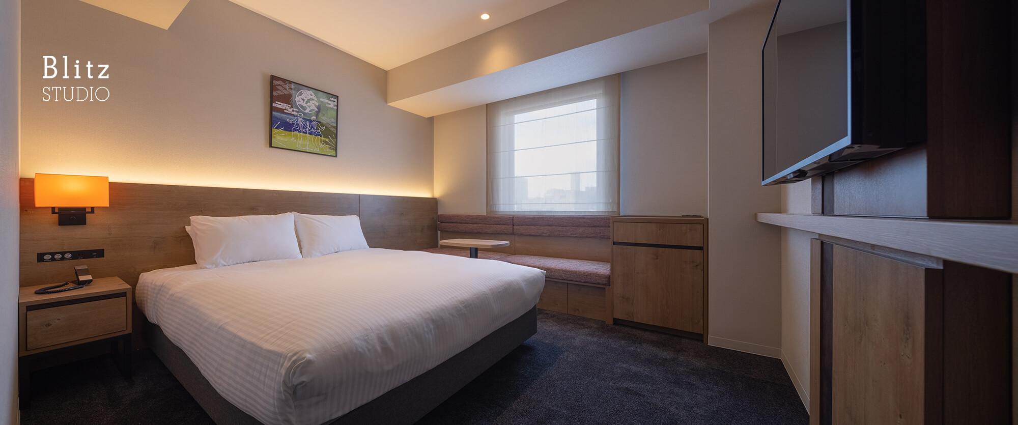 『ホテルフォルツァ大阪道頓堀』建築写真・竣工写真・インテリア写真9