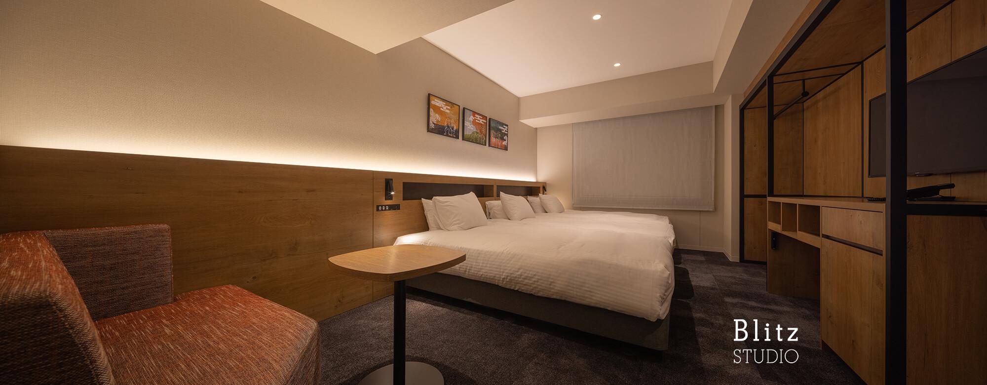 『ホテルフォルツァ大阪道頓堀』建築写真・竣工写真・インテリア写真10