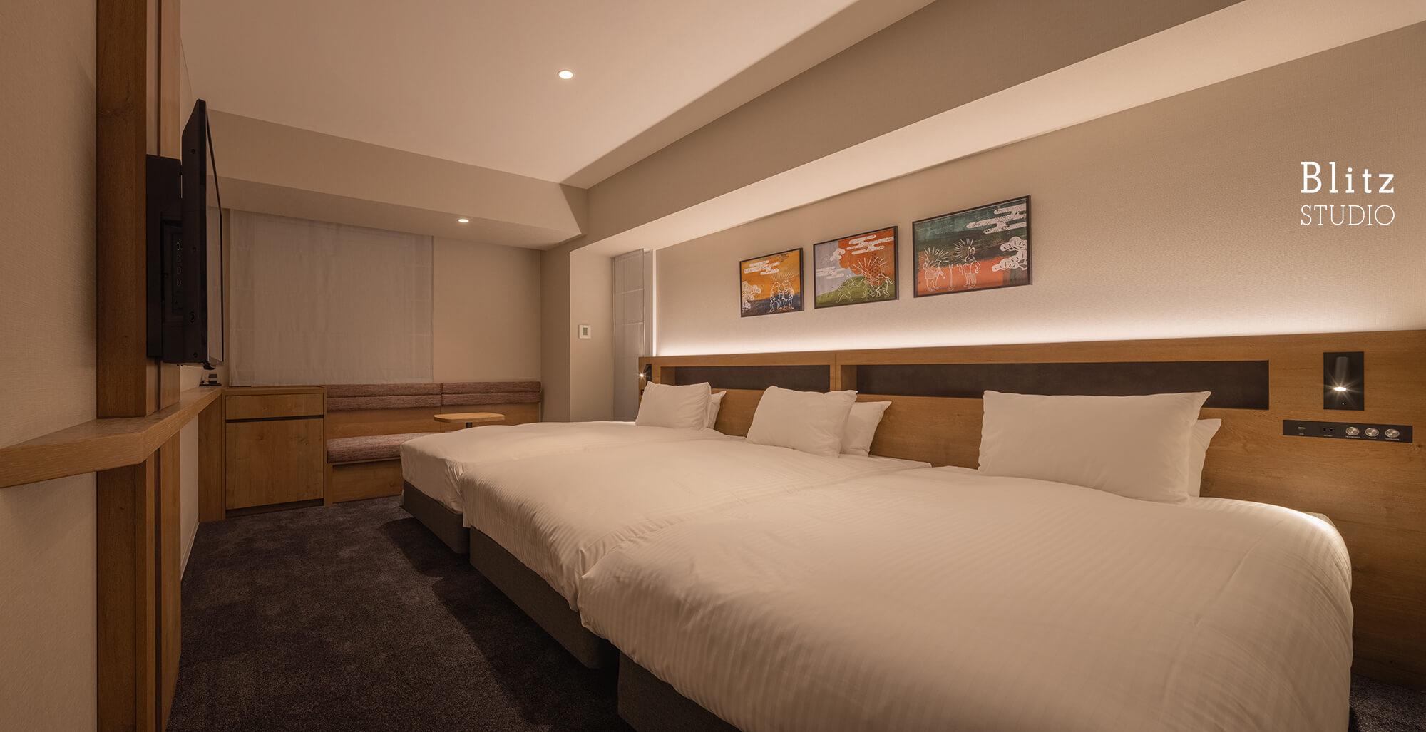 『ホテルフォルツァ大阪道頓堀』建築写真・竣工写真・インテリア写真11