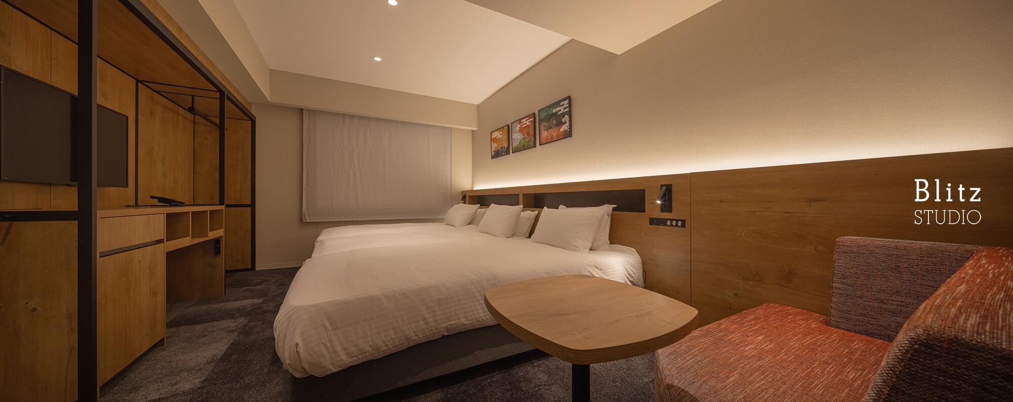 『ホテルフォルツァ大阪道頓堀』建築写真・竣工写真・インテリア写真12