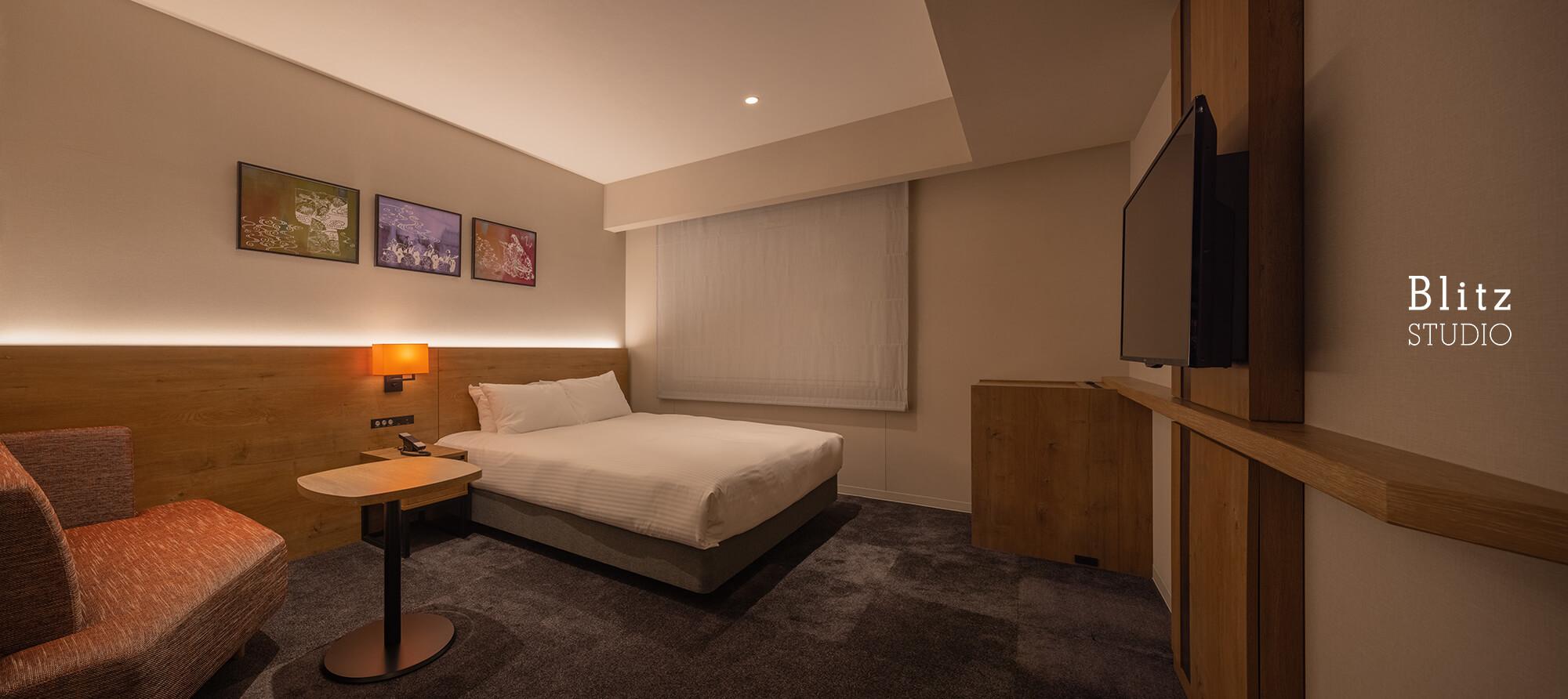 『ホテルフォルツァ大阪道頓堀』建築写真・竣工写真・インテリア写真13
