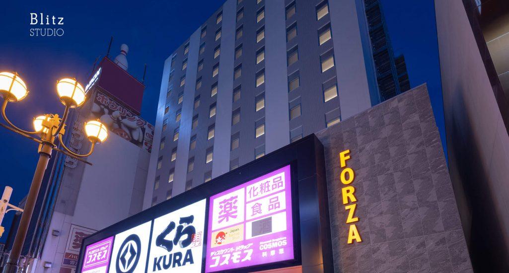 『ホテルフォルツァ大阪道頓堀』-大阪府大阪市-建築写真・竣工写真・インテリア写真
