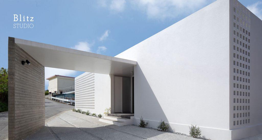 『風と生きる花ブロックの家』-沖縄県沖縄市-建築写真・竣工写真・インテリア写真