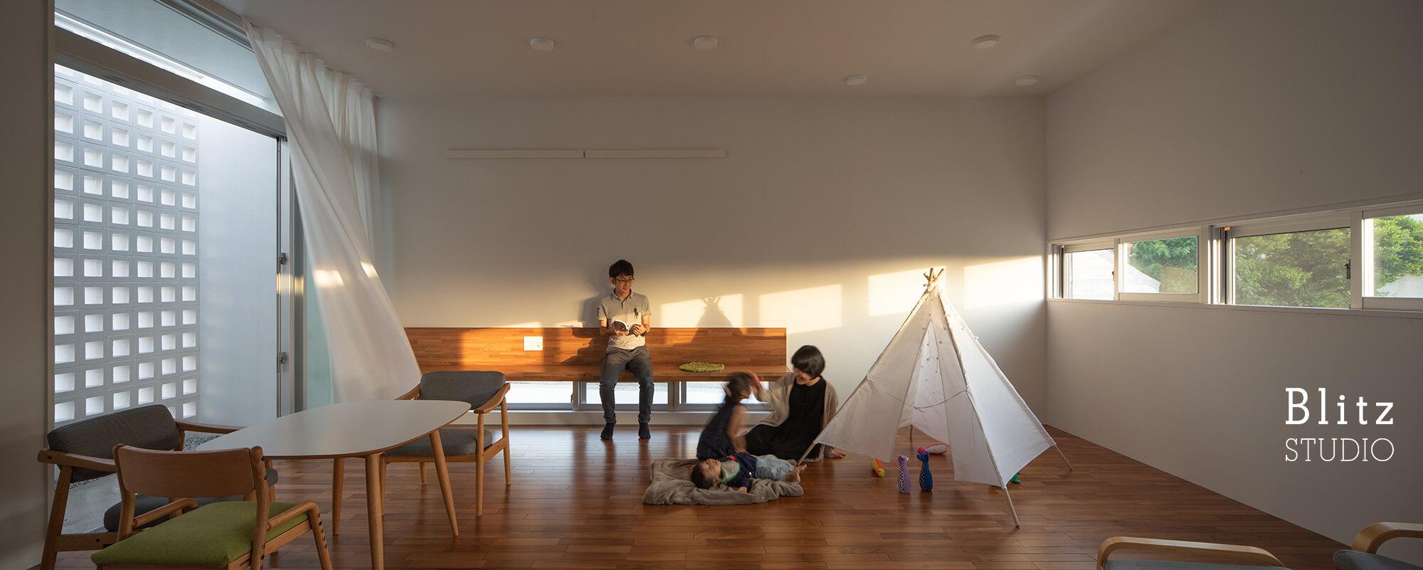 『風と生きる花ブロックの家』建築写真・竣工写真・インテリア写真11