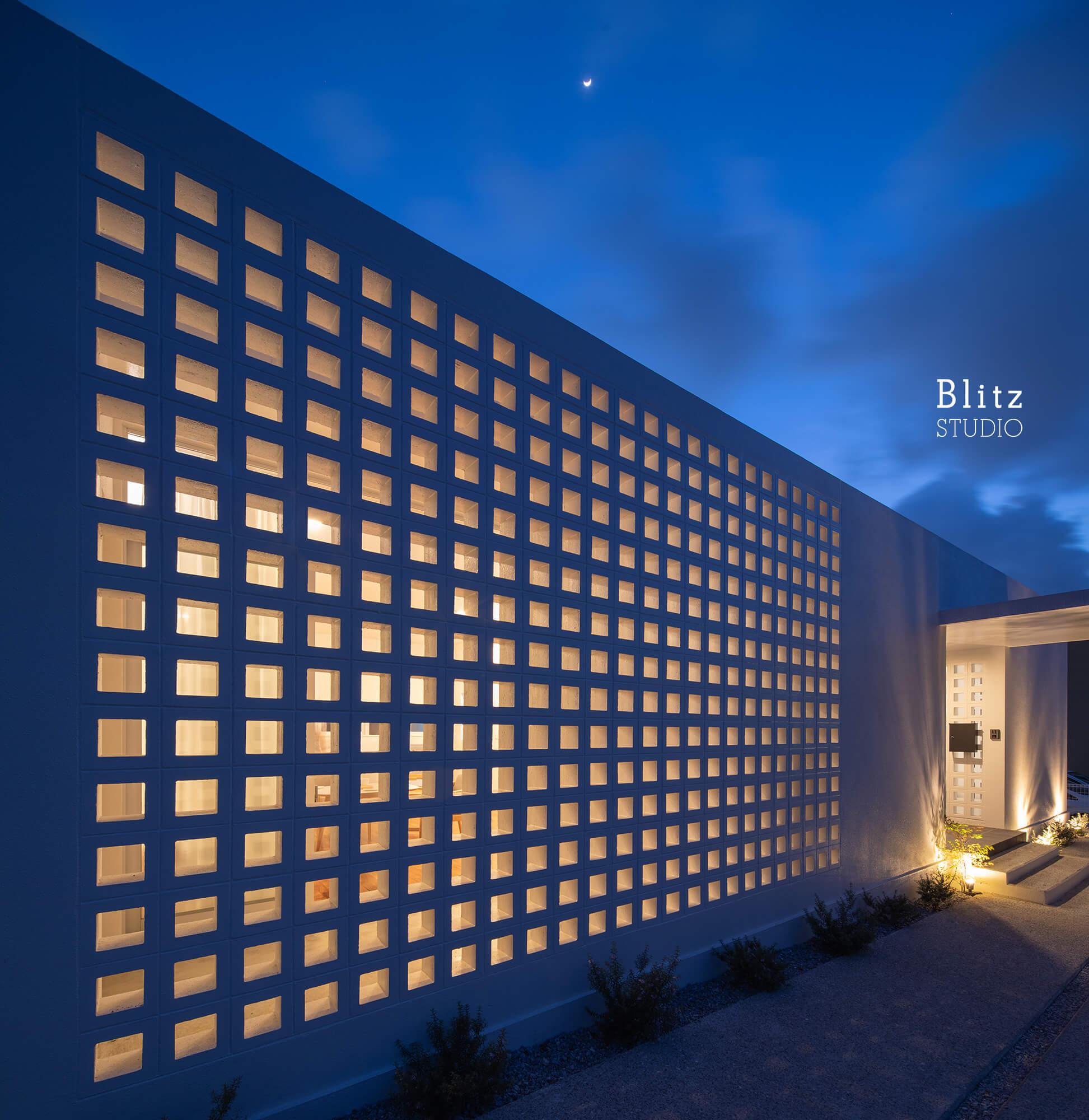 『風と生きる花ブロックの家』建築写真・竣工写真・インテリア写真12
