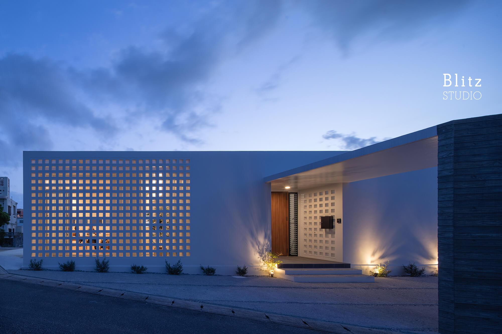 『風と生きる花ブロックの家』建築写真・竣工写真・インテリア写真14