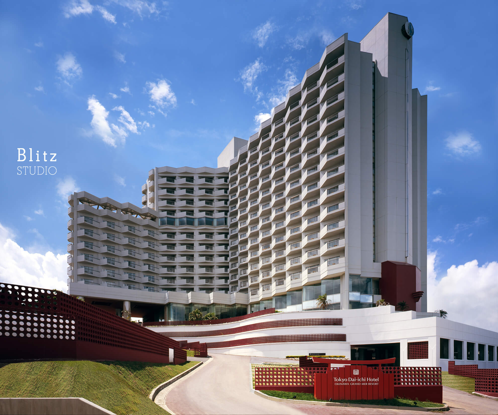 『OKINAWA GRAND MER RESORT』-沖縄県沖縄市-建築写真・竣工写真・インテリア写真1