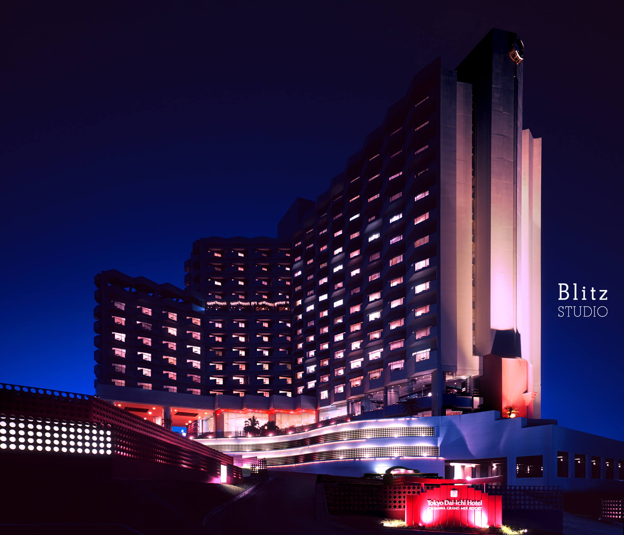 『OKINAWA GRAND MER RESORT』-沖縄県沖縄市-建築写真・竣工写真・インテリア写真3