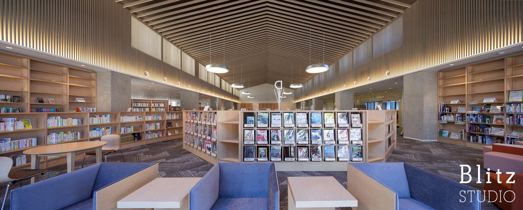 『豊後大野市立図書館』建築写真・竣工写真・インテリア写真11