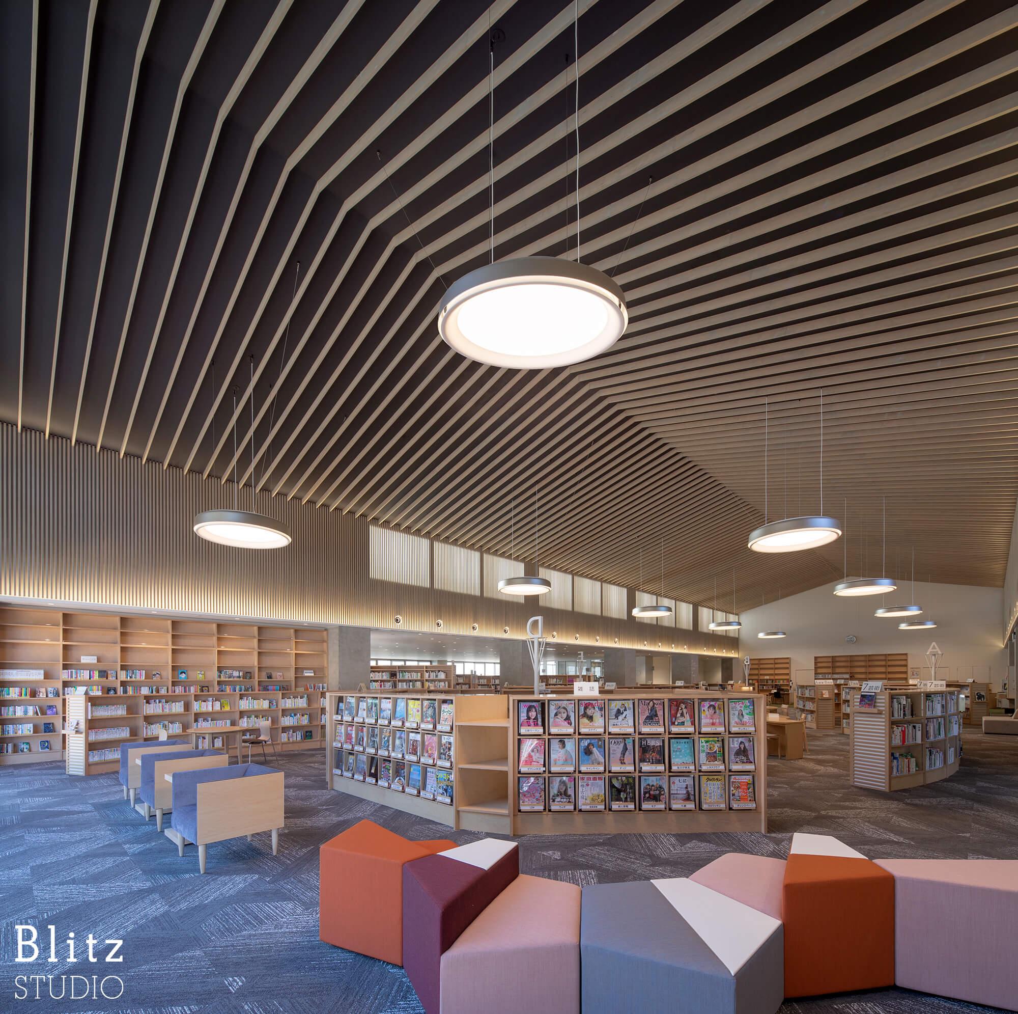 『豊後大野市立図書館』建築写真・竣工写真・インテリア写真12