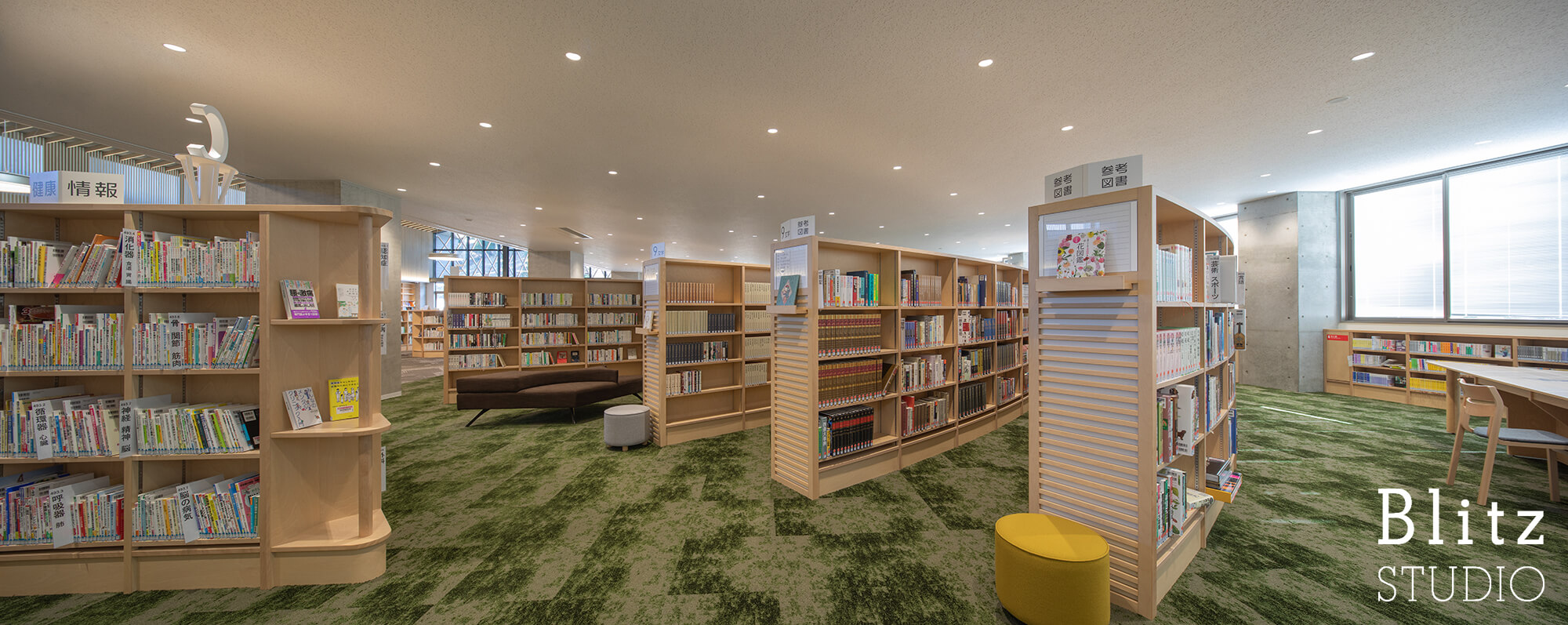 『豊後大野市立図書館』建築写真・竣工写真・インテリア写真14