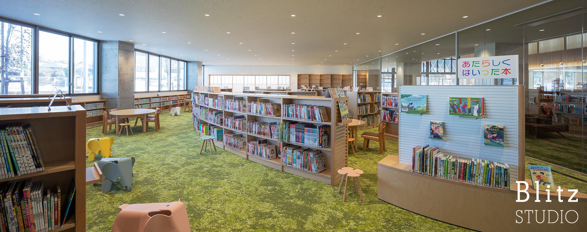 『豊後大野市立図書館』建築写真・竣工写真・インテリア写真15