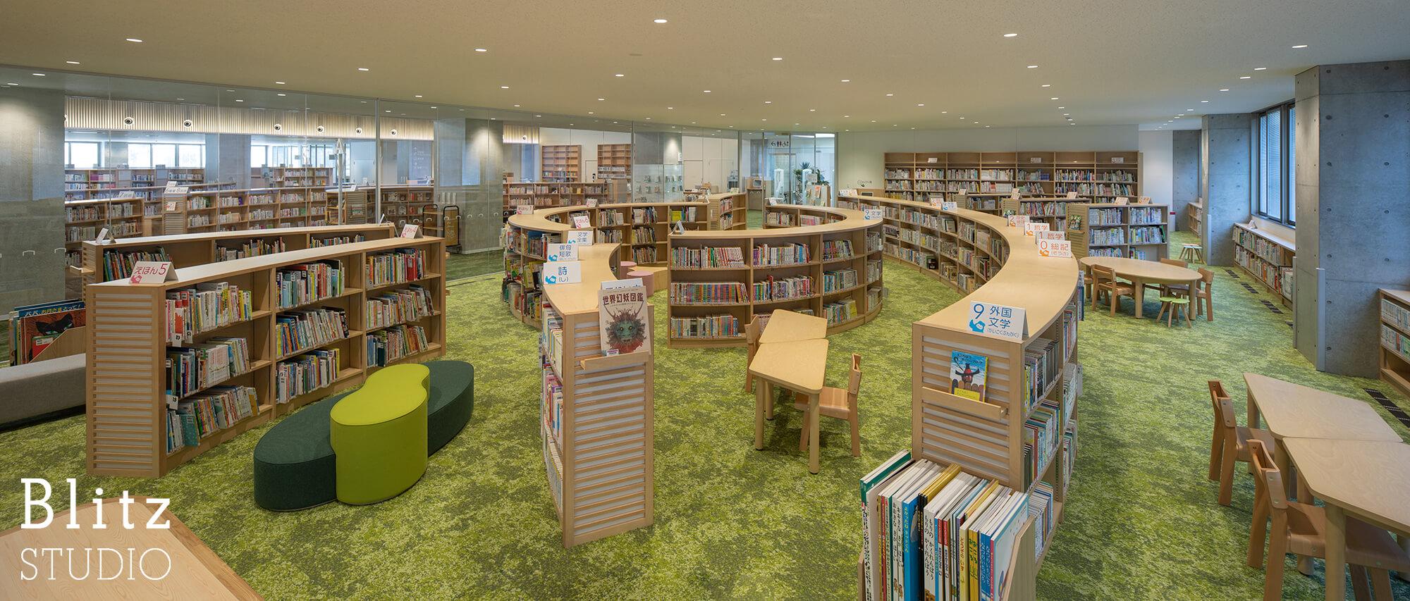 『豊後大野市立図書館』建築写真・竣工写真・インテリア写真16