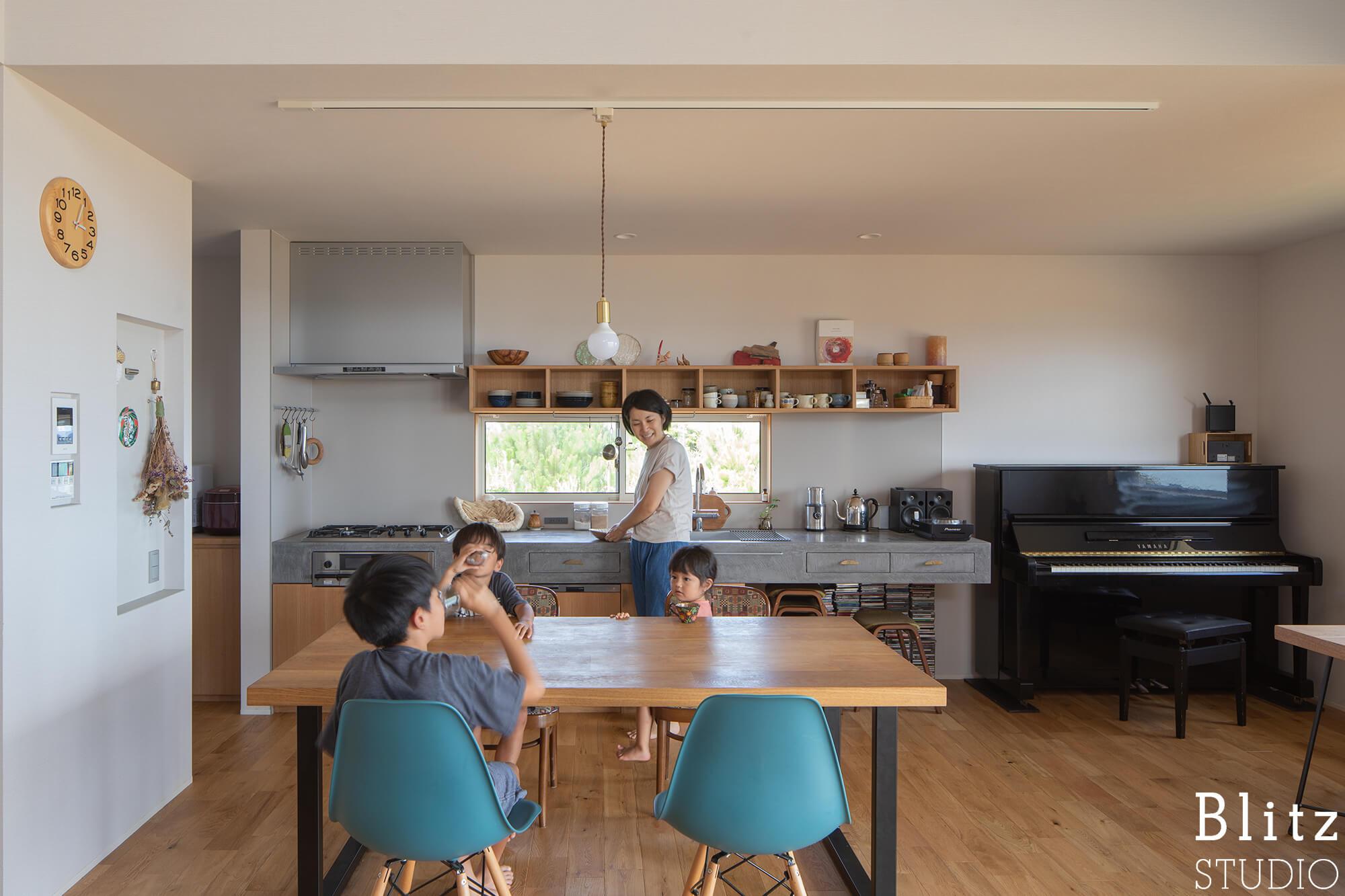 『水平線の見える家』建築写真・竣工写真・インテリア写真15