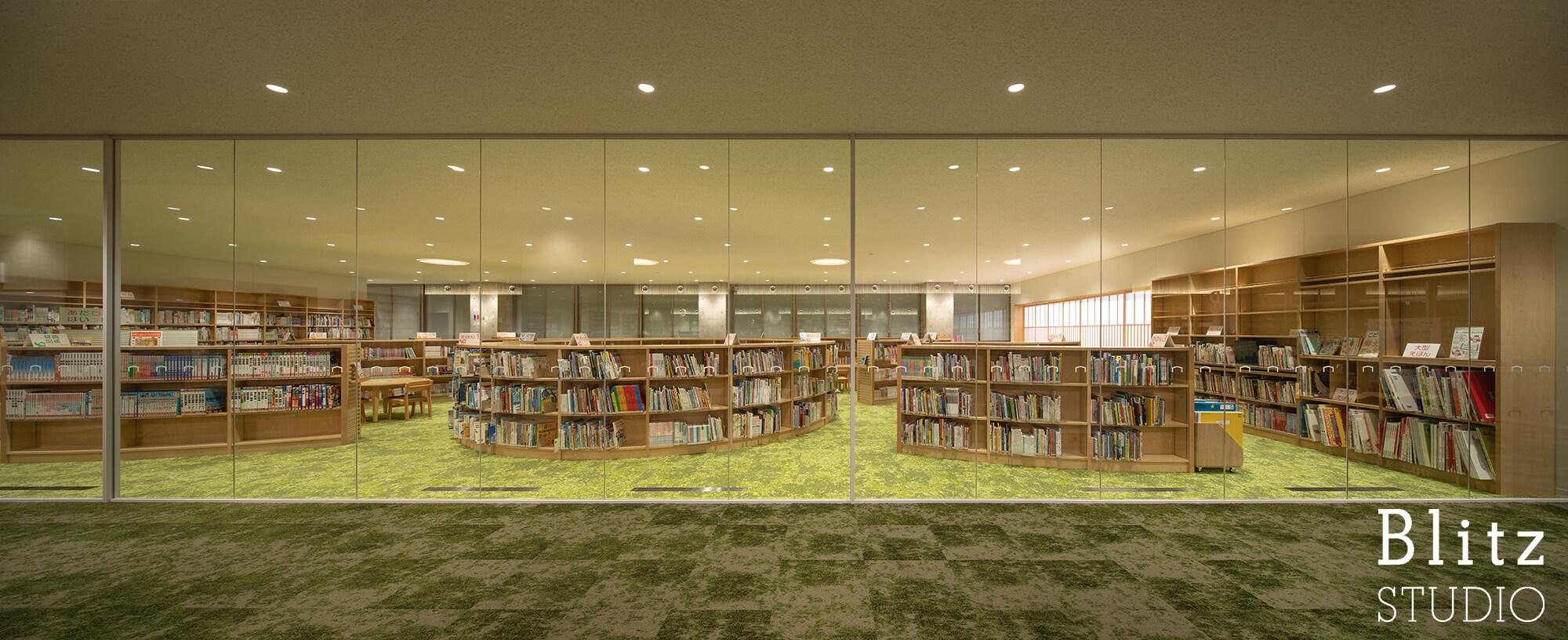 『豊後大野市立図書館』建築写真・竣工写真・インテリア写真17